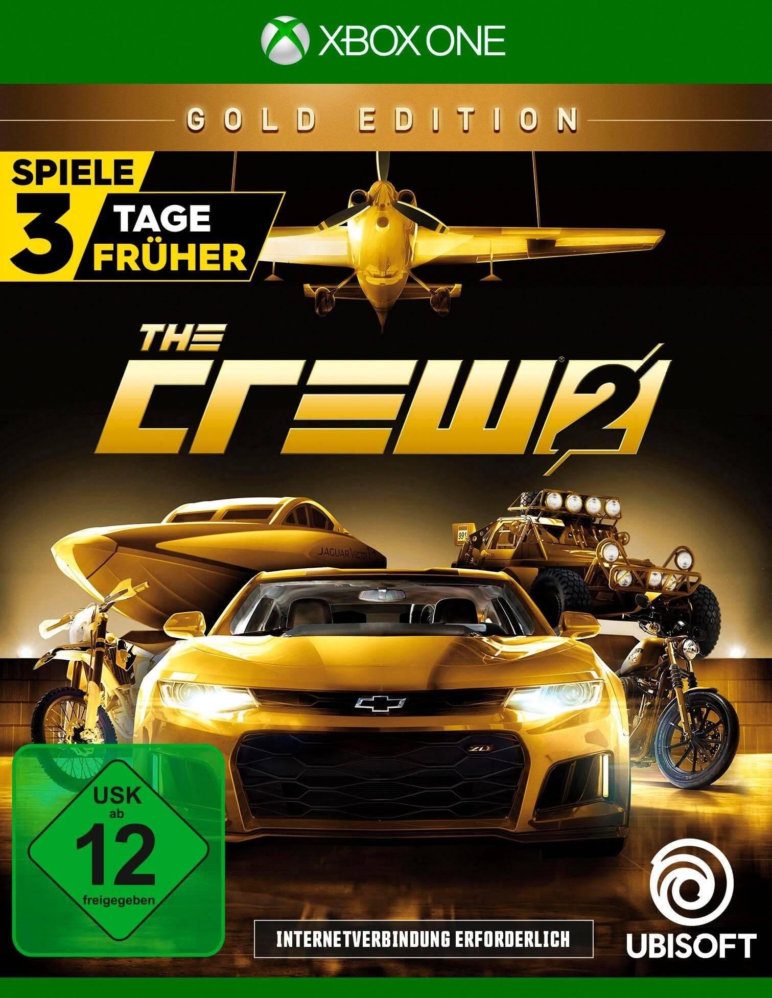 بازی - بازی ایکس باکس اورجینال The Crew 2 Gold Edition  