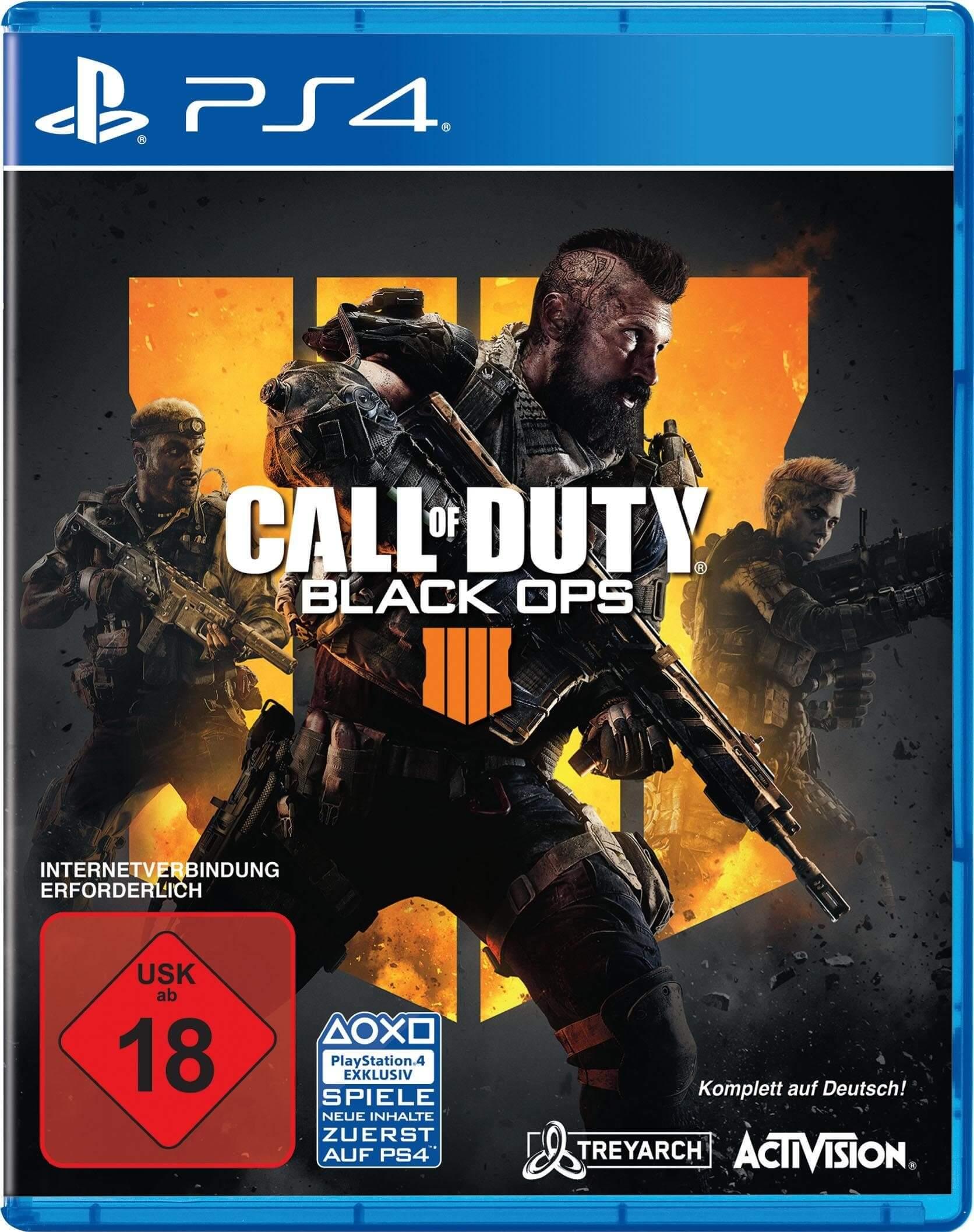 بازي Call Of Duty Black Ops IIII مخصوص PlayStation۴   SONY PlayStation4 Call Of Duty Black Ops IIII Game