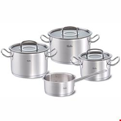 سرویس قابلمه 4 پارچه فیسلر آلمان Fissler original-profi collection Topf-Set 4-tlg mit Glasdeckel