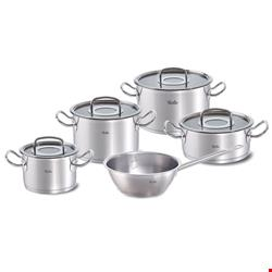 سرویس قابلمه 5 پارچه فیسلر آلمان Fissler  original-profi collection Topf-Set 5-tlg mit Glasdeckel und Sauteuse
